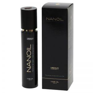 schönes Haar mit Nanoil